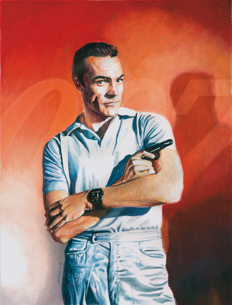 Sean Connery par mravey